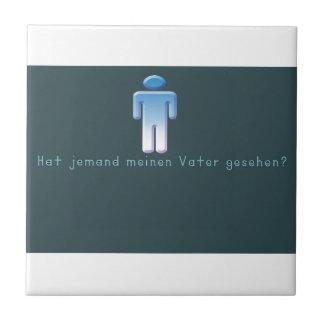 Azulejo Alemán - papá