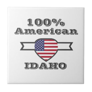 Azulejo Americano del 100%, Idaho