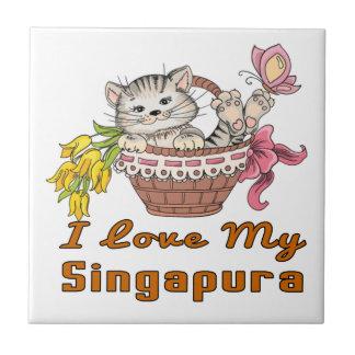 Azulejo Amo mi Singapura