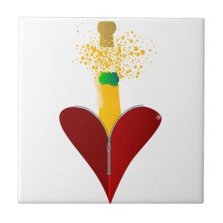 Azulejo Amor Champán