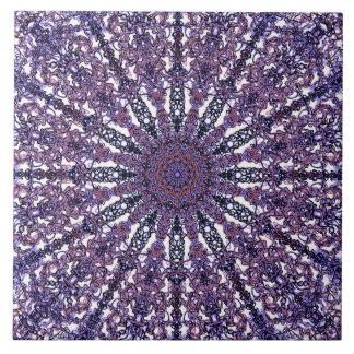 Azulejo Arabesque coloreado romántico del ornamento de la