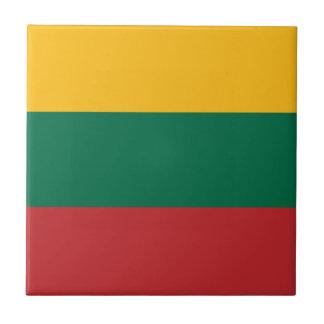 Azulejo ¡Bajo costo! Bandera de Lituania