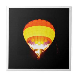 Azulejo baloon del aire caliente en diseño digital de la