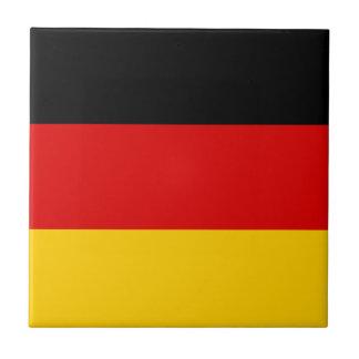 Azulejo Bandera alemana patriótica