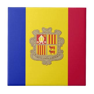 Azulejo Bandera de Andorra