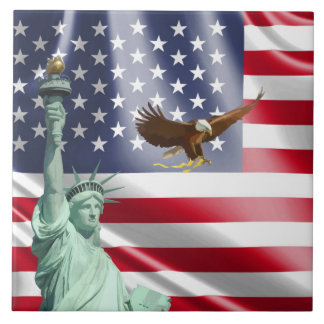 Azulejo Bandera de los E.E.U.U.