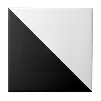 Azulejo Blanco y negro