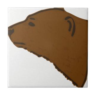 Azulejo Cabeza del oso