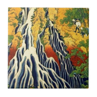 Azulejo Campesinos y cascada