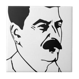 Azulejo Cara de Joseph Stalin