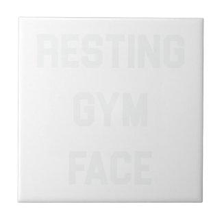 Azulejo Cara de reclinación del gimnasio