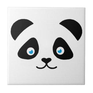 Azulejo cara del oso de panda