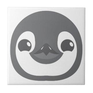 Azulejo cara del pingüino del bebé