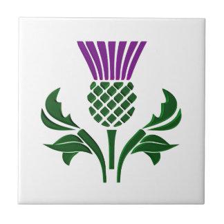 Azulejo Cardo escocés del emblema