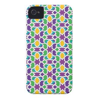 Azulejo cerámica de Marruecos, mosaicos moriscos Funda Para iPhone 4