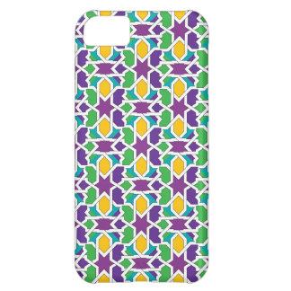 Azulejo cerámica de Marruecos, mosaicos moriscos Funda Para iPhone 5C