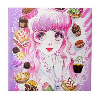 Azulejo Chica de la panadería