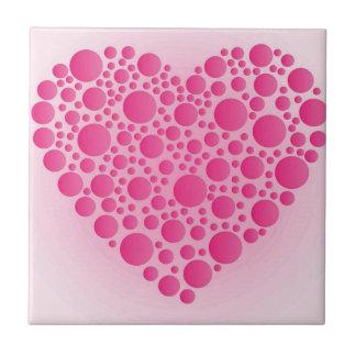 Azulejo Ciervo rosado de la burbuja