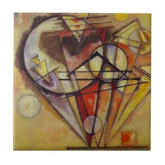 Azulejo Círculos abstractos de Kandinsky