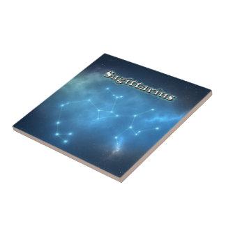Azulejo Constelación del sagitario