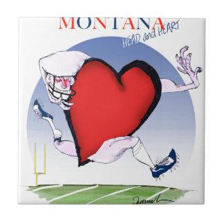 Azulejo corazón principal de Montana, fernandes tony