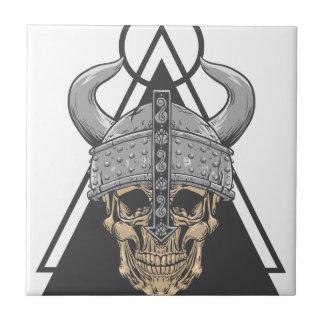 Azulejo Cráneo de Viking