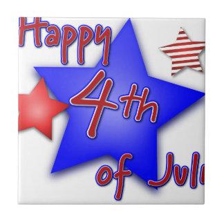Azulejo Cuarto de la celebración de julio