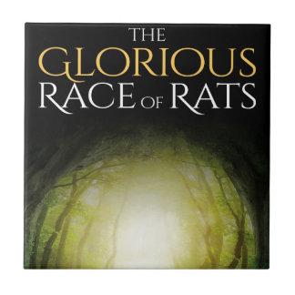 """Azulejo Cubierta de libro """"de la raza gloriosa de ratas """""""