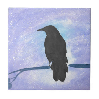 Azulejo Cuervo Stargazing
