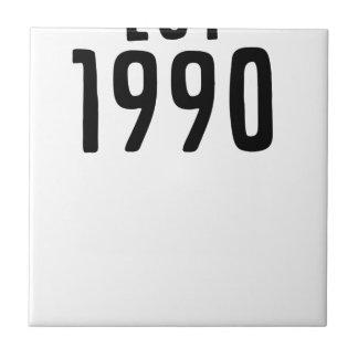 AZULEJO DE CERÁMICA 1990