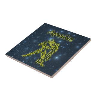 Azulejo De Cerámica Acuario brillante