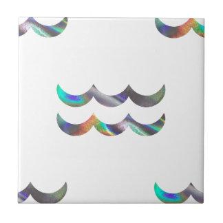 Azulejo De Cerámica acuario del holograma