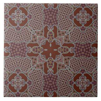 Azulejo De Cerámica Adorno complejo del remiendo