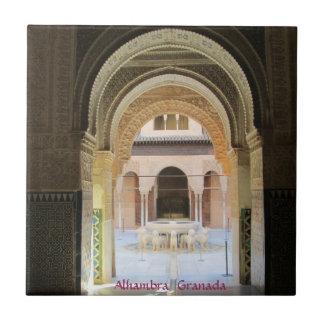 Azulejo de cerámica, Alhambra, Granada