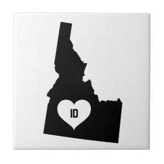 Azulejo De Cerámica Amor de Idaho