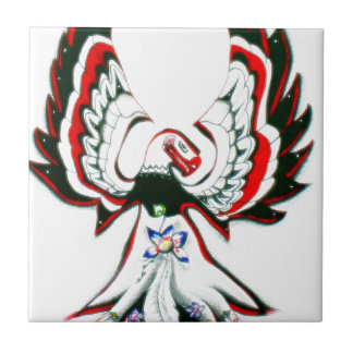 Azulejo De Cerámica Anishinaabe Thunderbird