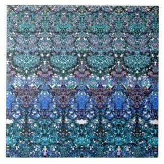 Azulejo De Cerámica Arabesque atado romántico grande del ornamento de