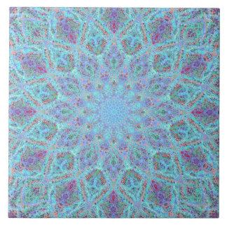 Azulejo De Cerámica arabesque coloreado Boho-romántico del ornamento