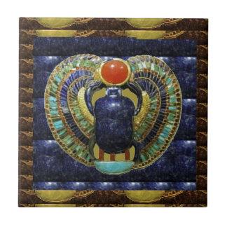 Azulejo De Cerámica Artes del templo del VINTAGE de las PIRÁMIDES de