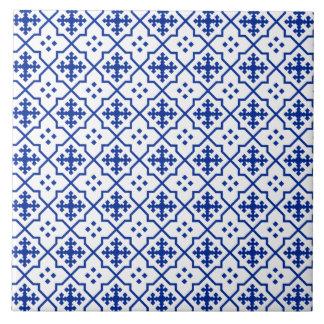 Azulejo De Cerámica Azul marroquí