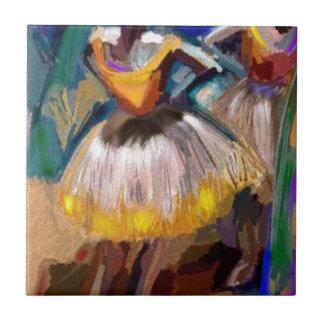 Azulejo De Cerámica Ballet - Dega