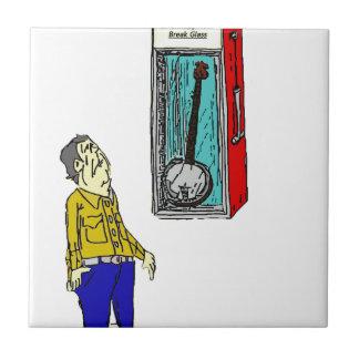 Azulejo De Cerámica Banjo de la emergencia