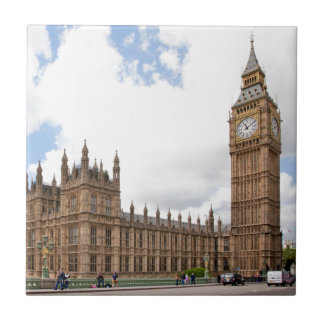 Azulejo De Cerámica Big Ben
