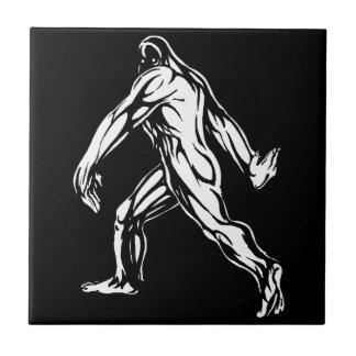 Azulejo De Cerámica Bigfoot