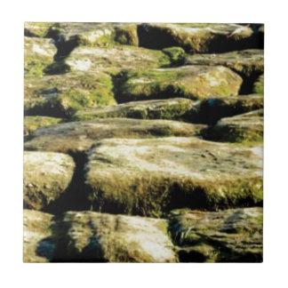 Azulejo De Cerámica bloques del amarillo de roca