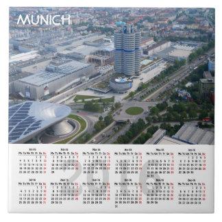 Azulejo De Cerámica Calendario de Munich, Alemania 2016