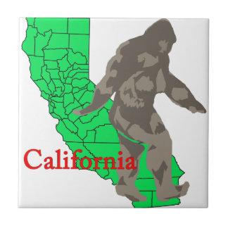 Azulejo De Cerámica California Bigfoot