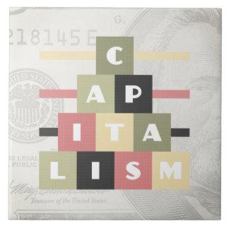 Azulejo De Cerámica Capitalismo