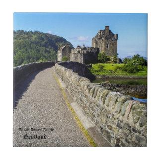 Azulejo De Cerámica Castillo del escocés de Eilean Donan