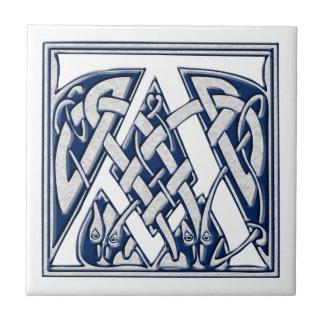 Azulejo De Cerámica Celtic un monograma